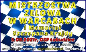 Mistrzostwa Zelowa w warcabach I Memoriał Szczepana Krajdy @ OSP Łobudzice